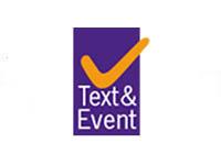 Text en Event